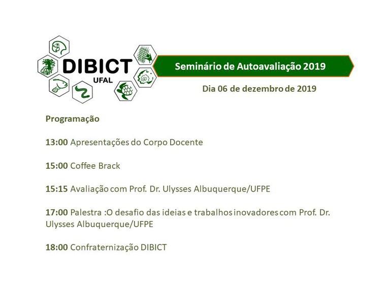 Evento seminário de avaliação 2019